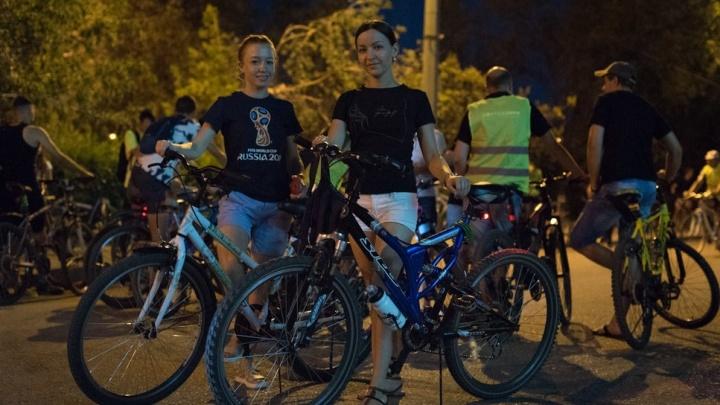 «И 10 километров по дороге»: в Волгограде 27 июля пройдёт ночной велопарад