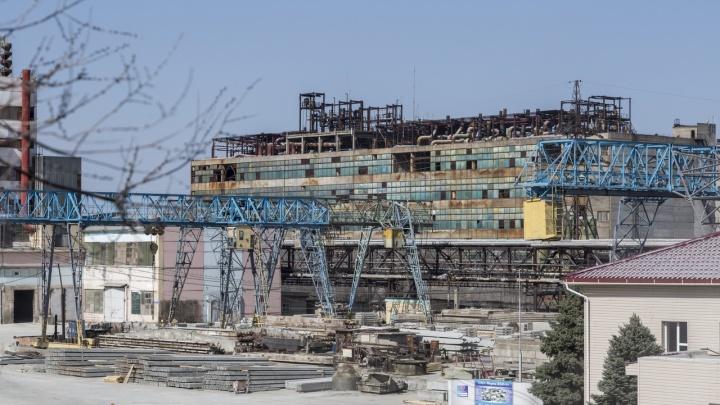 На проданном «Промтеху» заводе «Химпром» в Волгограде произошел пожар