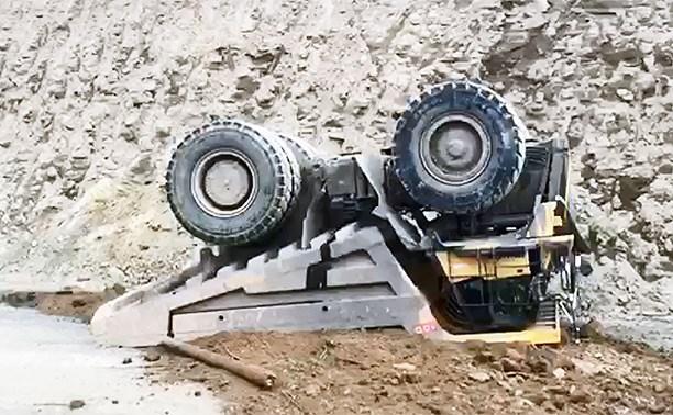 В Башкирии на работе погиб водитель самосвала