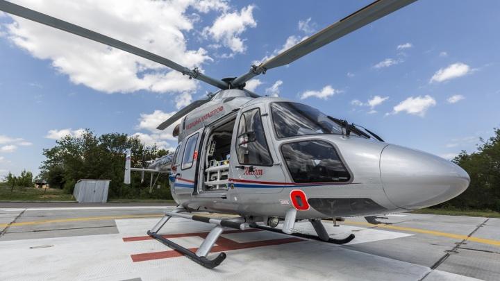 Наращиваем парк вертолетов: в Волгоградской области расширяют «крылатую» скорую помощь