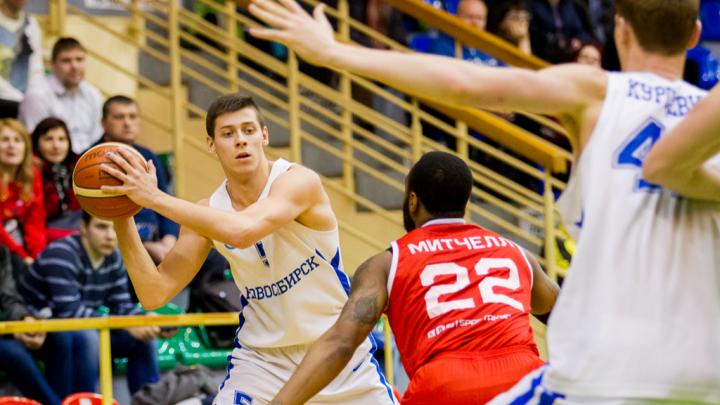 Баскетбол: новосибирская команда проиграла команде «Спартак-Приморье»