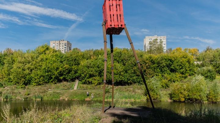 Железное дерево, красный человечек и калейдоскоп. В Перми появились новые арт-объекты