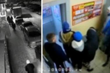 Полиция нашла толпу подростков, напавших в лифте на мужчину