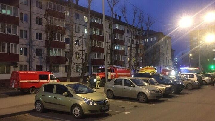 В пятиэтажке наПарфёнова в Тюмени произошёл пожар