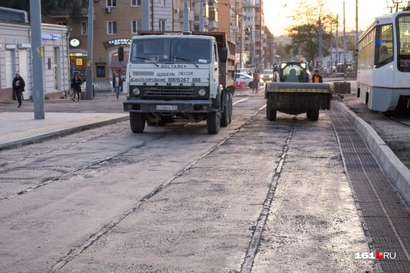 Реконструкция этой улицы завершилась месяц назад