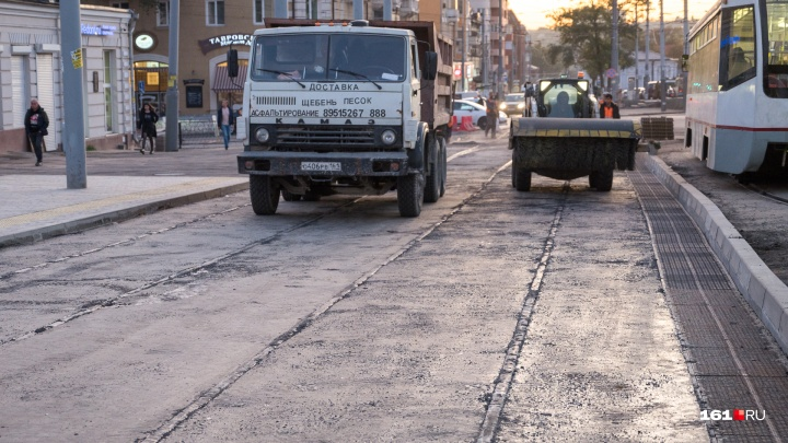 Реконструкцию улицы Станиславского осложнила ростовская авиация