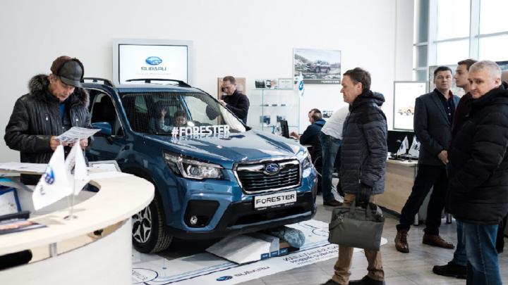 Идеальный для путешествий: в Омске презентовали новый Subaru Forester