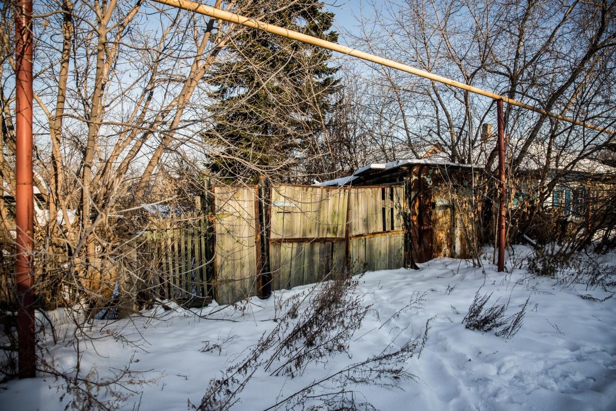 Некоторые из домов под снос выглядят откровенно нежилыми