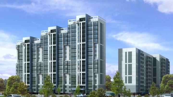 Отказались от плотной застройки: в новом жилом комплексе сделана ставка на просторные дворы