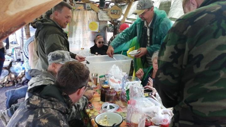 На Шиесе речам Путина предпочли обед: того самого вопроса жители Архангельской области не дождались
