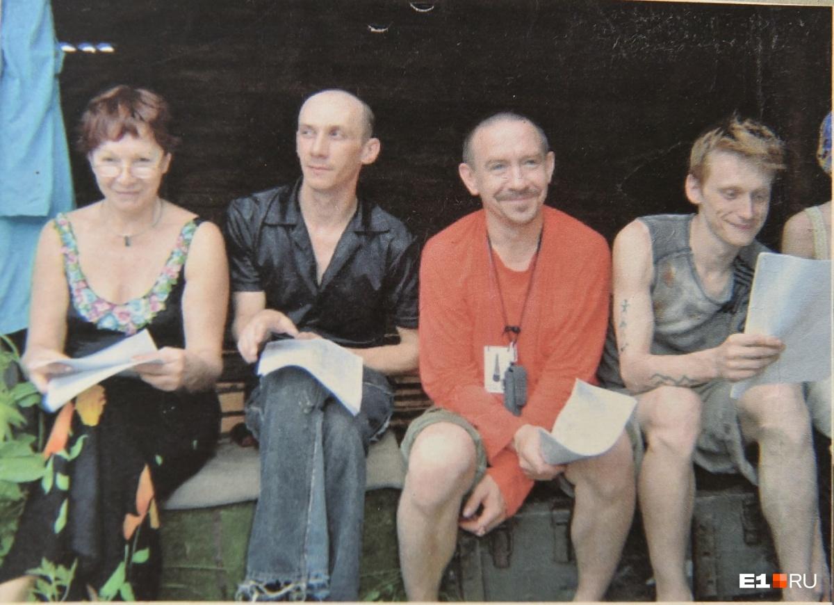 Читка пьес с актёрами «Коляда-театра» несколько лет назад