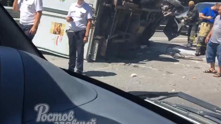 Родился в рубашке: в Аксае водитель «Газели» чудом выжил в жутком ДТП