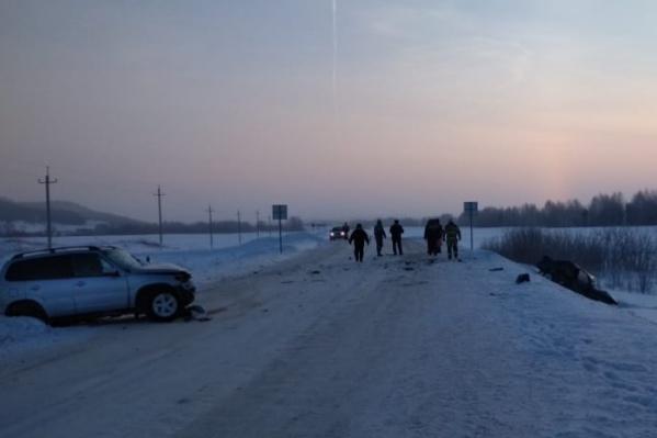 У водителя и пассажиров второй машины не было шансов выжить