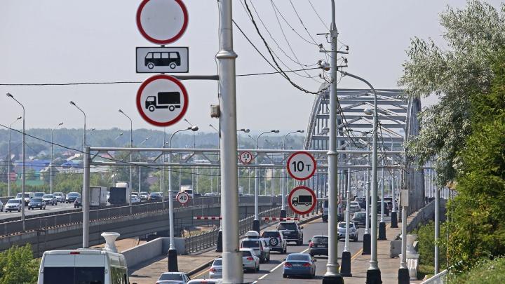 12 745 раз за полтора месяца: на старом Бельском мосту посчитали нарушения ПДД