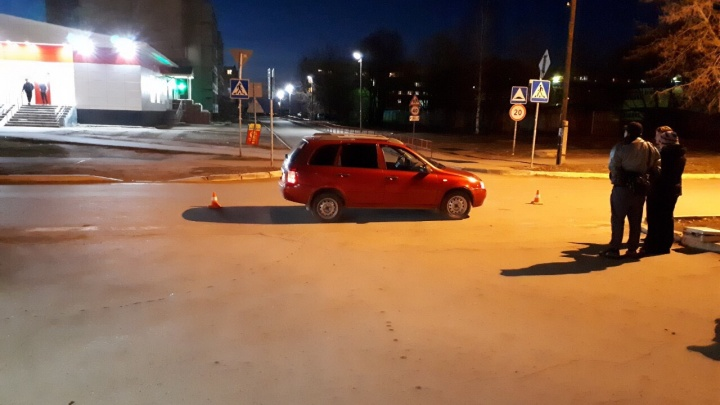 В Пермском районе школьника на велосипеде сбила Lada Kalina