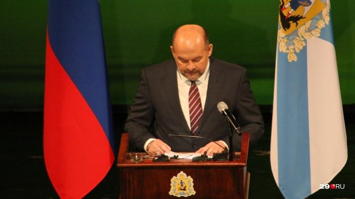 «Не верит в то, что говорил»: губернатор рассказал облсобранию, что будет с нацпроектами в Поморье
