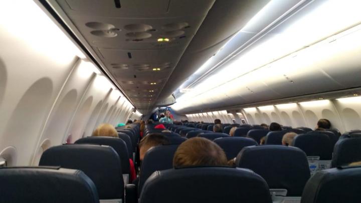 В Толмачёво на два часа задержали рейс в Москву из-за столкновения машины с трапом