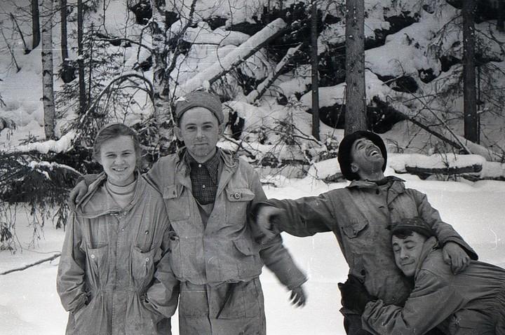 Людмила Дубинина, Георгий Кривонищенко, Николай Тибо-Бриньоль и Рустем Слободин