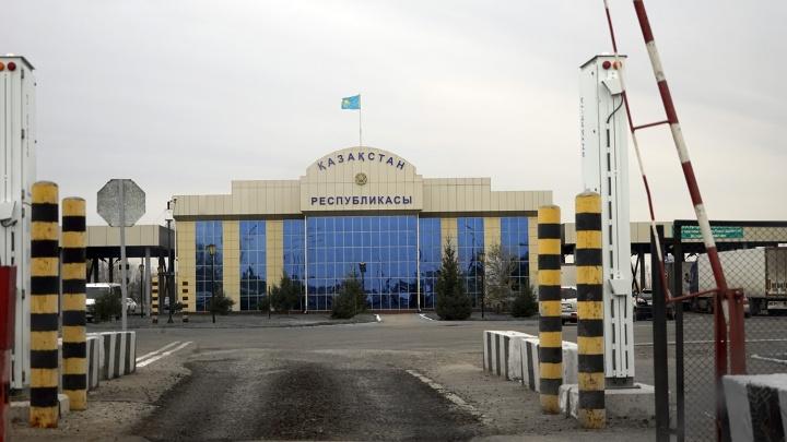 В Омской области спрогнозировали пробки на границе с Казахстаном
