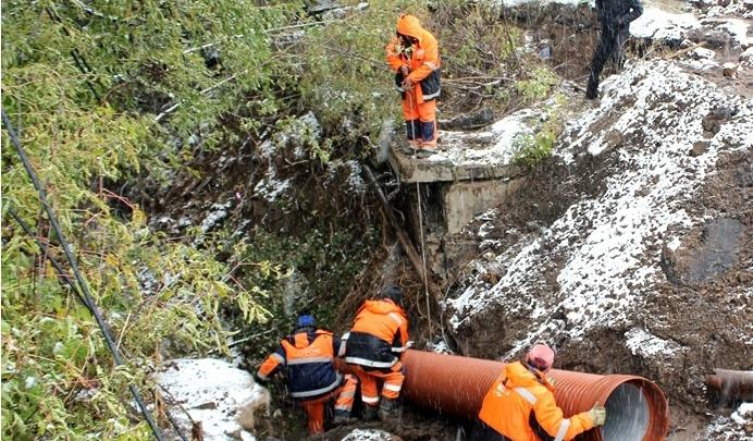 В Уфе восстановили ливневую канализацию