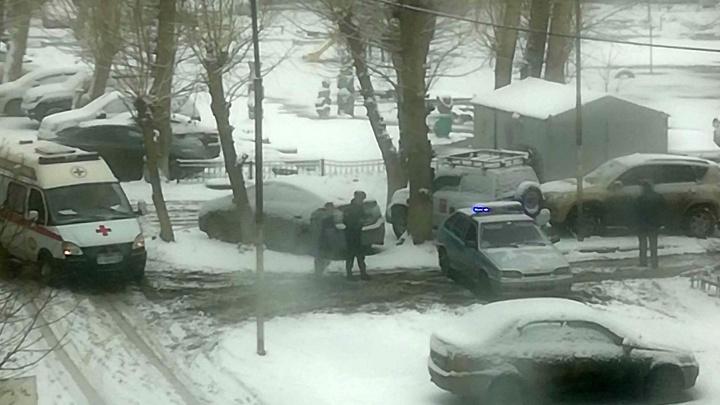 В микрорайоне Заозёрный из садика эвакуировали детей