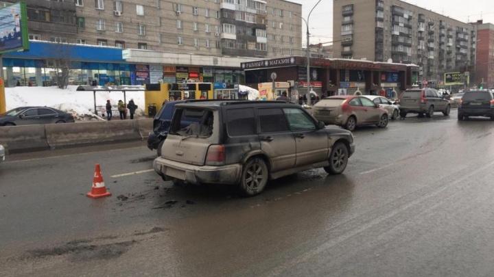 За сутки в Новосибирске в ДТП пострадали три ребёнка