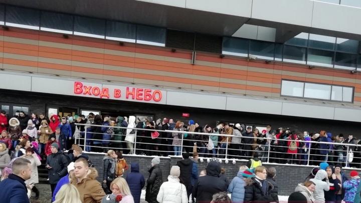 ИзТРЦ «Небо» эвакуировали 1200 человек