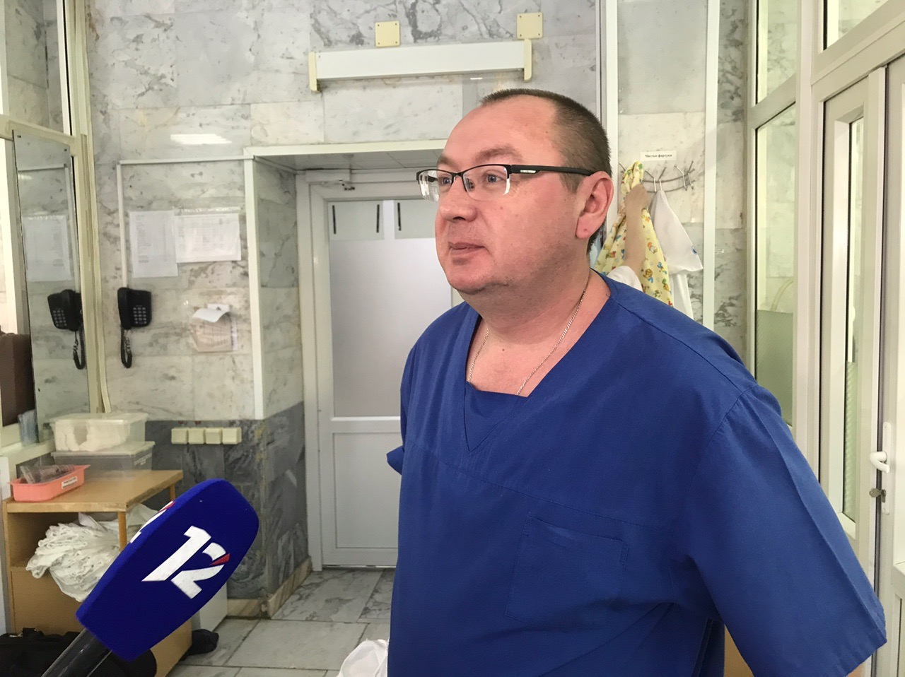 ХирургИлья Зятьков перед операцией