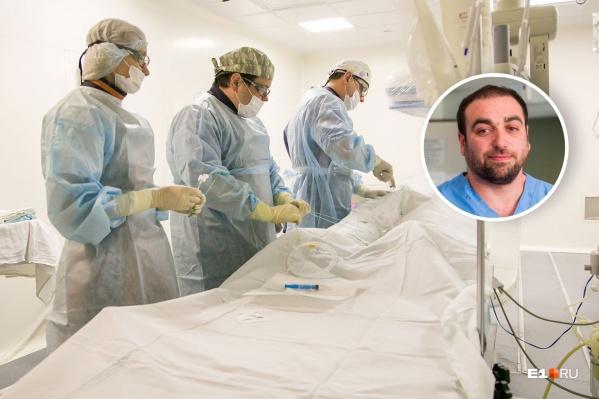 Эдуард Леонидович — заместитель главного врача по акушерству и гинекологии. Проработал в 7-й городской больнице 19 лет