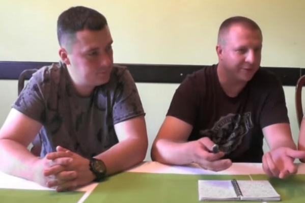 Семен Фищук (слева) и Никита Моргунов рассказали, почему решили просить политическое убежище на Украине