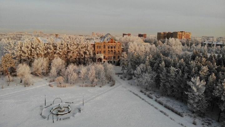 «Решил показать, что Омск не дыра»: город с высоты птичьего полета в ролике известного фотографа