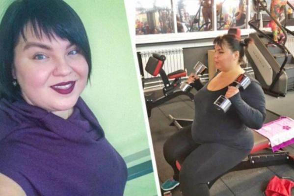 Анастасия собралась похудеть на 70 килограммов