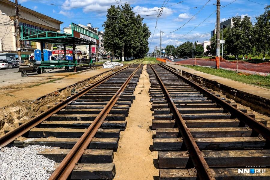 Закрытие движение трамваев маршрута №8 продлено до29августа вНижнем Новгороде
