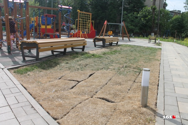 В Ростовской области затягивают сроки ремонта дворов и парков
