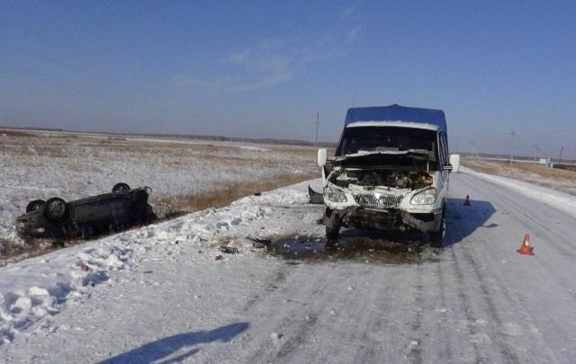 В аварии под Шумихой разбились два человека