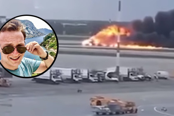На сгоревшем самолёте Михаил летел в командировку
