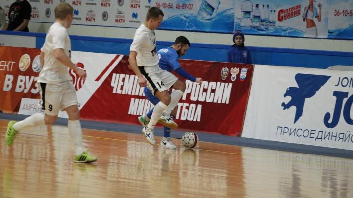 """Футболисты """"Синары"""" вывели свою команду в тройку сильнейших на чемпионате России"""