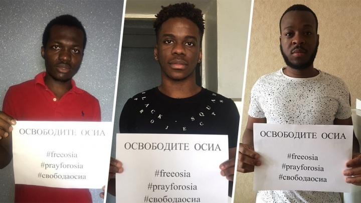 В поддержку нигерийца, которого обвиняют в изнасиловании путаны из Уфы, выступили иностранцы
