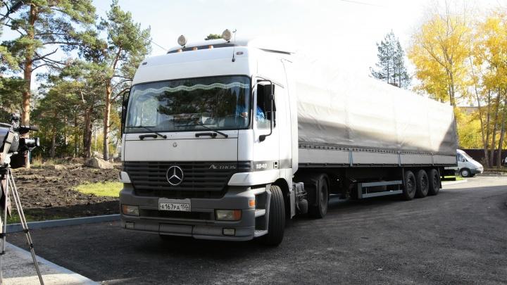 Трассу Челябинск — Троицк закрыли для большегрузов