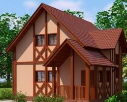 Доступный дом площадью 72 квадрата за 599 тысяч рублей