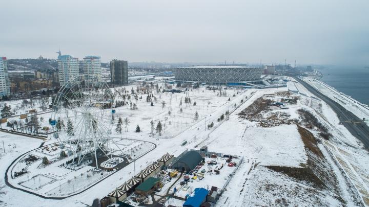 «Это саботаж администрации»: в Волгограде склон рядом с «Волгоград Ареной» признали незаконным