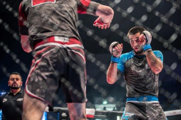 В финале южноуралец сражался с победителем первенства мира по ММА