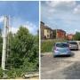 В Патрушева жители перекрыли дорогу, чтобы не дать построить сотовую вышку в своем переулке