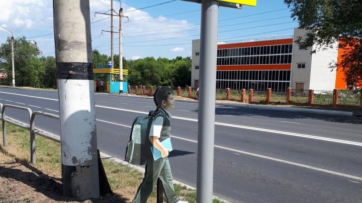 Картонный ребенок на «зебре»: мэрия Сызрани решила укротить водителей-лихачей