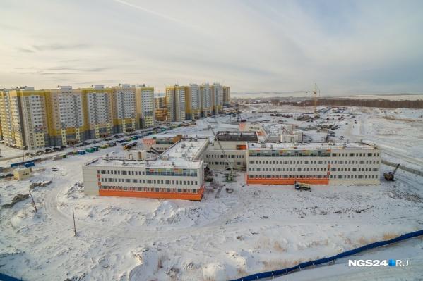 Речь о территории возле ЖК «Фестиваль» и новой школы