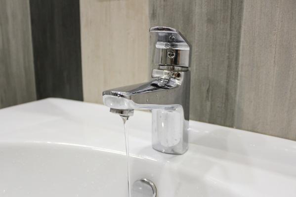 Воду могут отключить с 9:30