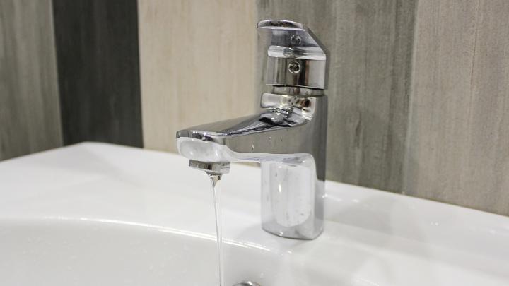 В центре Кургана 2 февраля в нескольких десятках домов могут отключить холодную воду