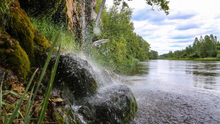 Маршрут выходного дня: едем из Уфы к Зеркальному водопаду на реке Инзер