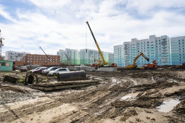 Новый трёхэтажный детсад достроят к концу 2019 года