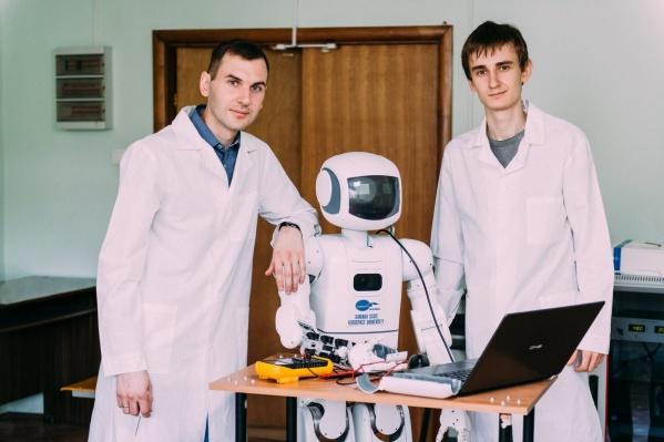 Молодые учёные представят на мероприятии несколько роботов